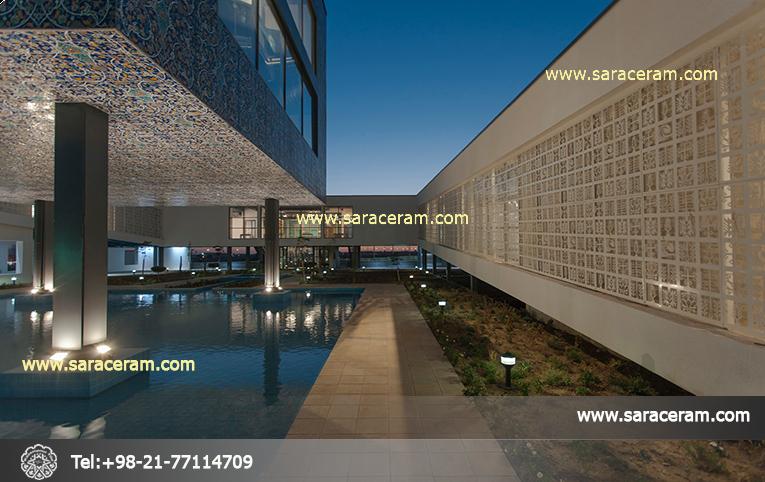 کاربرد کاشی سنتی در نمای ساختمان