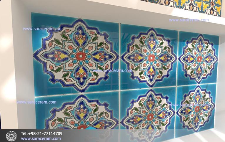 کاشی 20 در 20 ایرانی سنتی