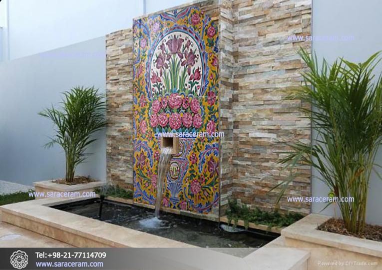 کاشی دستساز شیراز