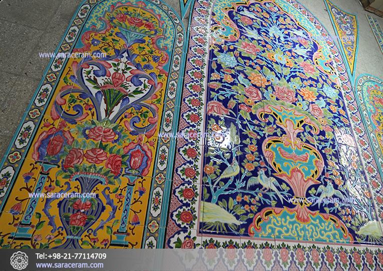 کاشی دستساز ایرانی